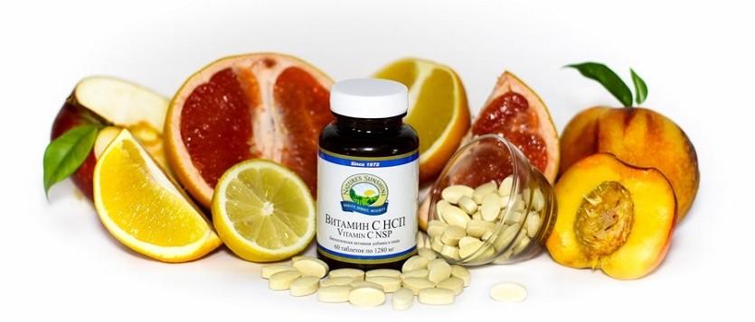 добавка к пище витамин с
