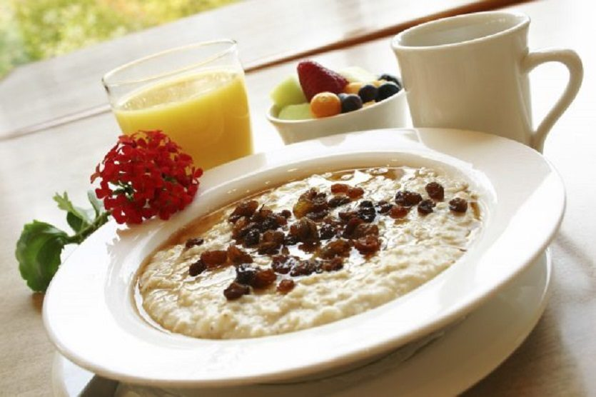 манная каша на завтрак