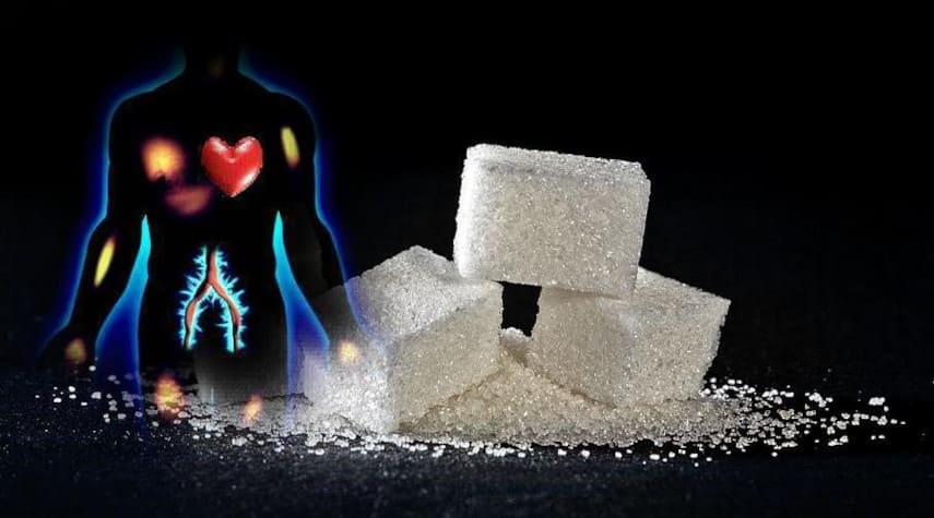 влияние сахара на сердце человека