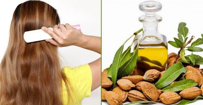 масло миндаля для здоровья волос